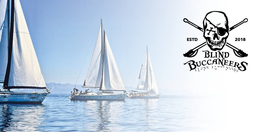 Sailboats with Blind Buccaneer logo